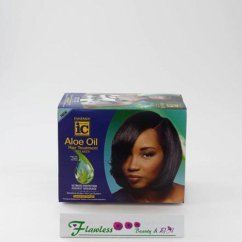 Fantasia IC Aloe Oil Hair Treatment Relaxer Kit Regular