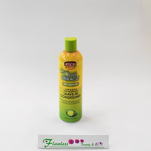 African Pride Olive Miracle Anti-Breakage Leave-In Conditioner 355 ml/