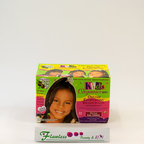 Africa's Best Kids Originals Olive Oil No-Lye Conditioning Relaxer Kit Coars