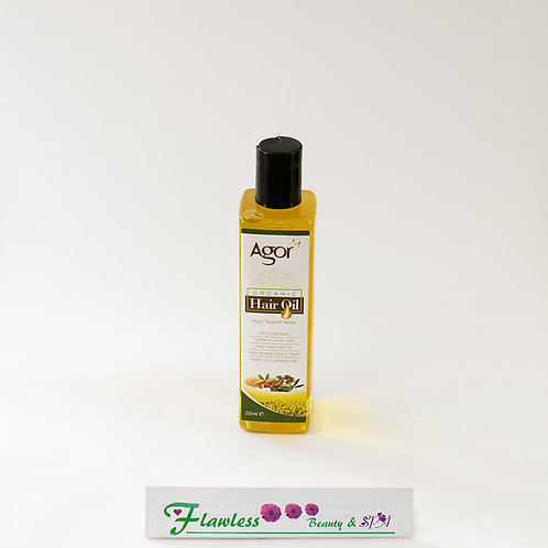 Agor 100% Organic Hair Oil 250ml