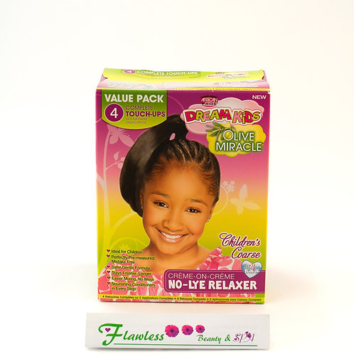 African Pride Dream Kids Olive Miracle Regular No-Lye Relaxer 4Ap