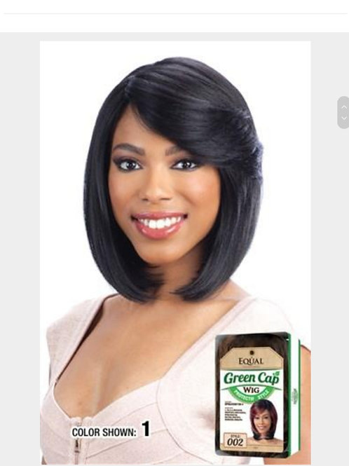 Freetress Equal Synthetic Wig Green Cap 008
