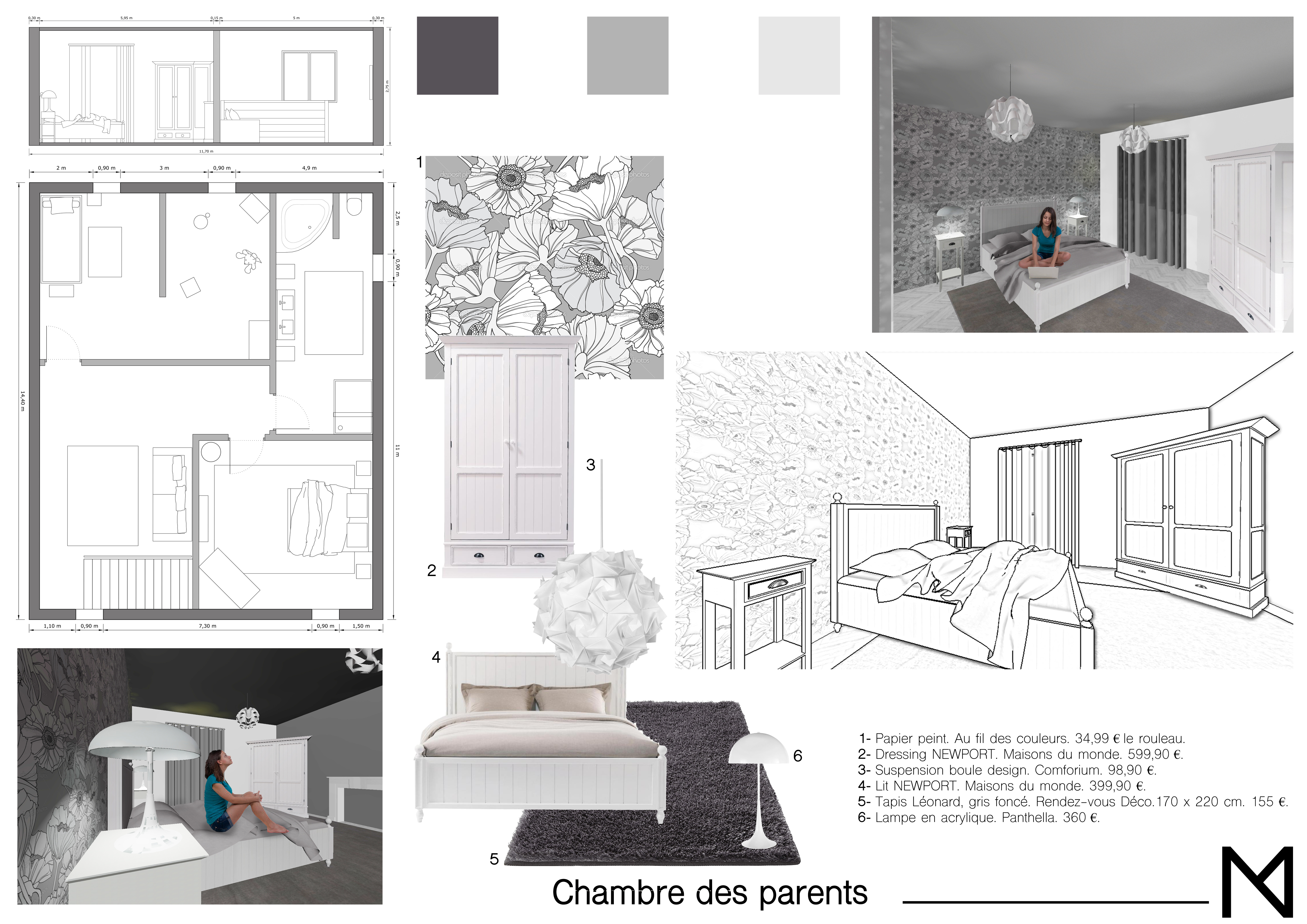 Lampe Suspension Papier Design portfolio | mndesigninterieur