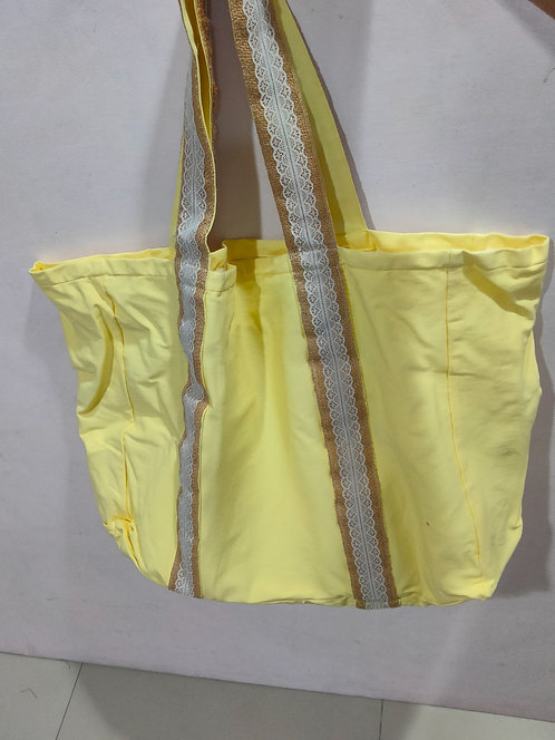 Yellow w/ Lace Fresca Bag