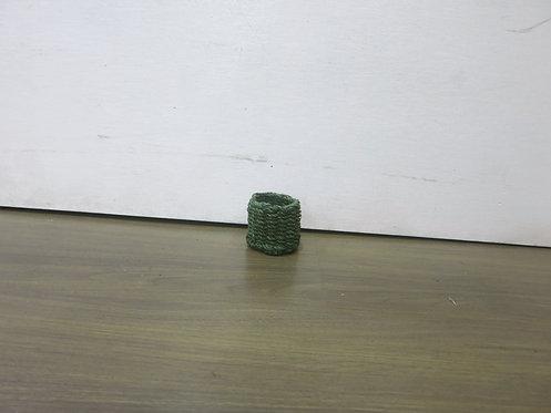 Stiff Napkin Rings Green