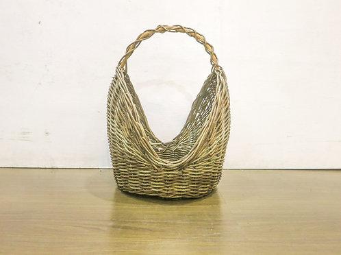 Brown Flower Basket