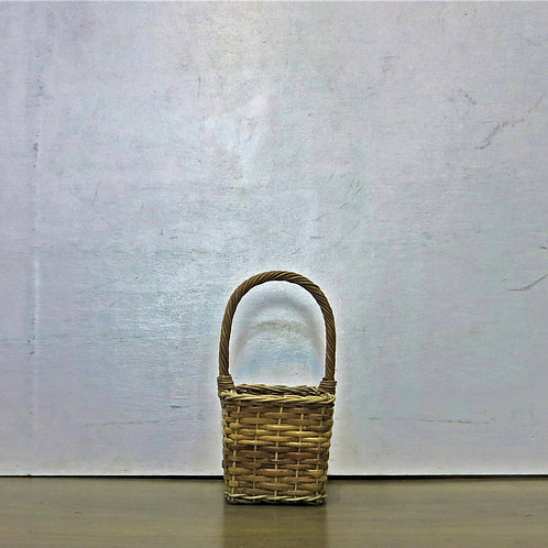 Small Square Brown Basket