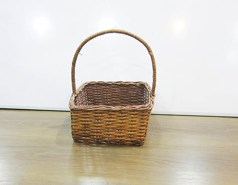 Dark Brown Square Basket