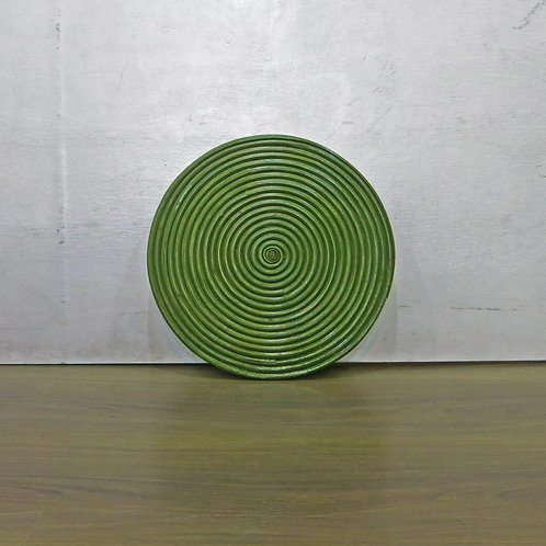 Green Rattan Placemat