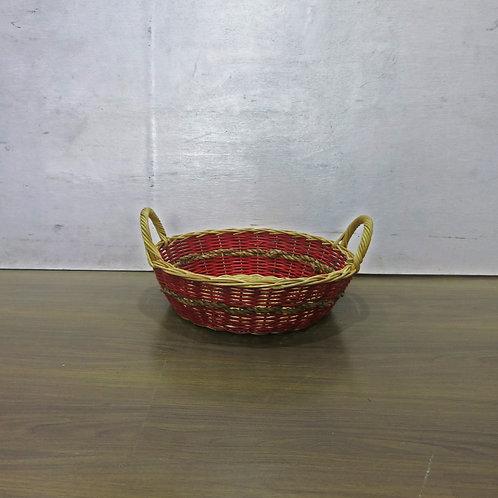 Red basket w/ Rope Belt
