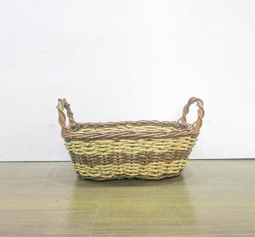 Brown Oblong Basket