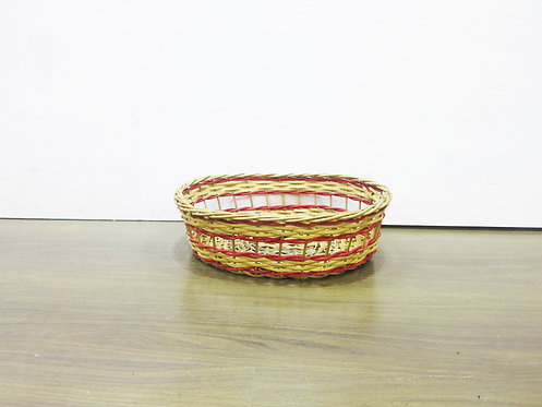Red Windowed Basket
