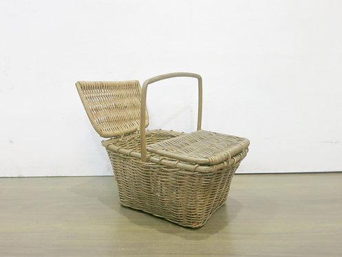 Picnic Basket w/ Split Cover
