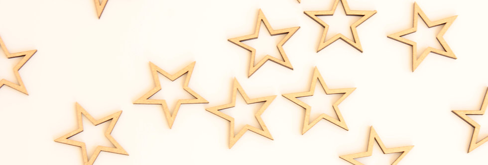 Table confetti - stars (pack of 15)
