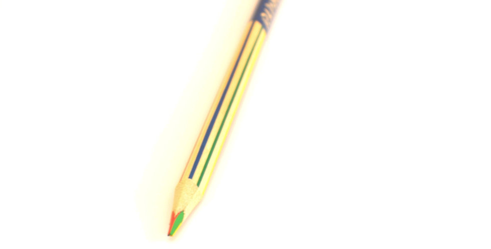 Quad-colour rainbow pencil