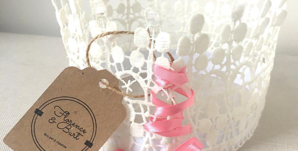 Handmade lace crown