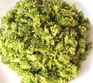 Ajo green rice