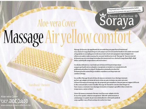 Oreiller Massage air Yellow 60/40
