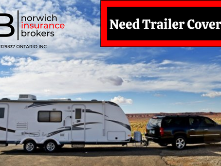 Looking For Trailer Insurance?