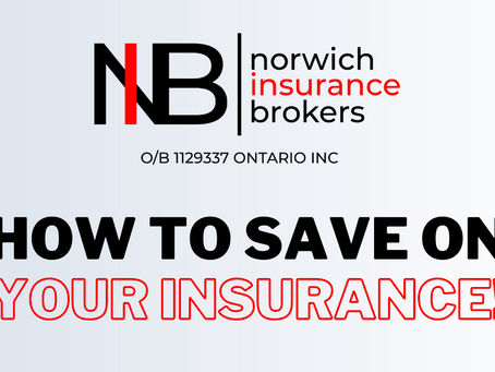 HOW TO SAVE ON YOUR INSURANCE!