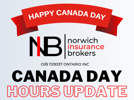 Canada Day Hours Update!