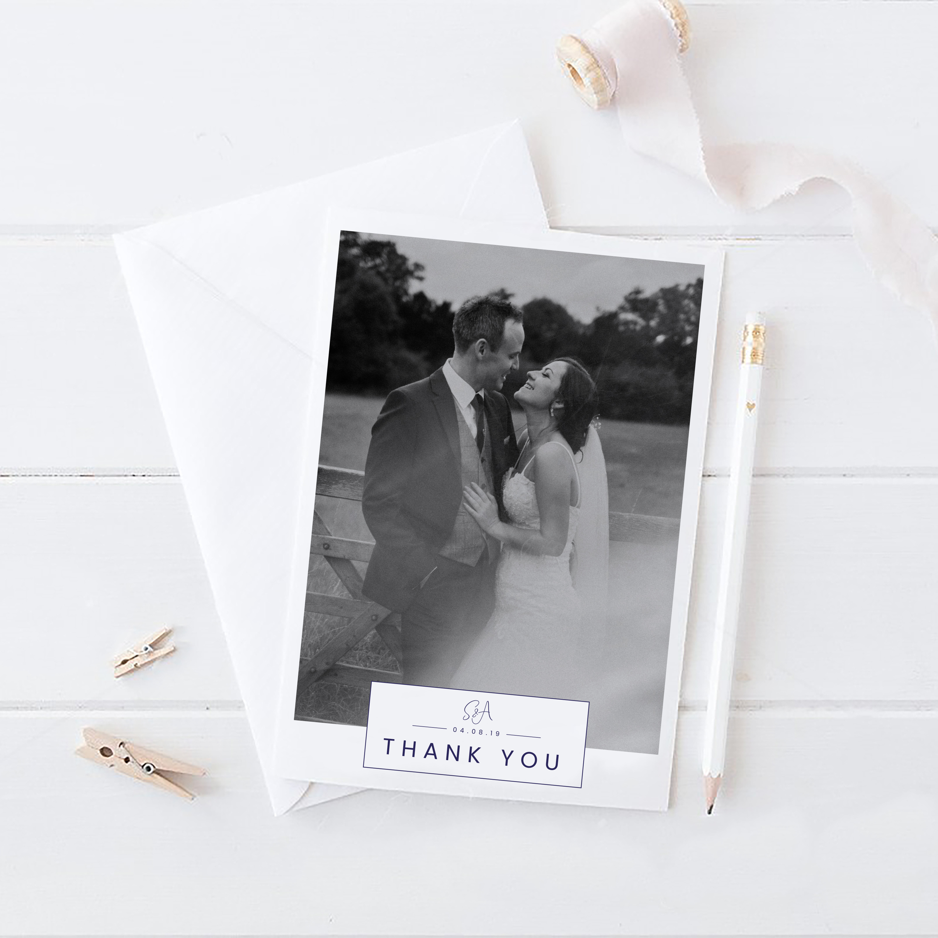 Thank you cards - S&A
