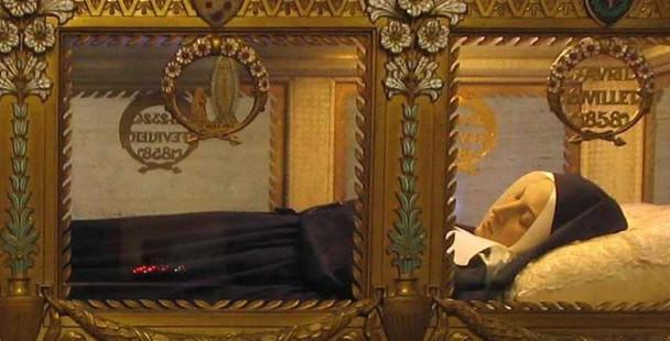 O único medo da santa que viu Nossa Senhora de Lourdes