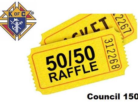 50/50 Electronic Raffle : Council 1507