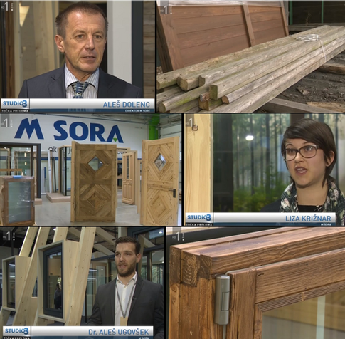 ReWin project on national television in the Točka preloma broadcast