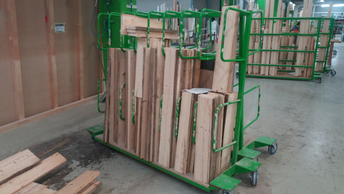 From sawmill to warehouse and in the production