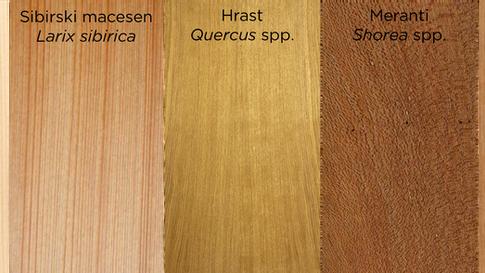 Resnica o izvoru lesa v oknih