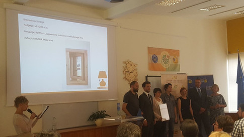 Bronze award for ReWin – wooden window made of recovered wood