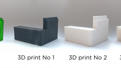 Application of new technology in window development- 3D printers