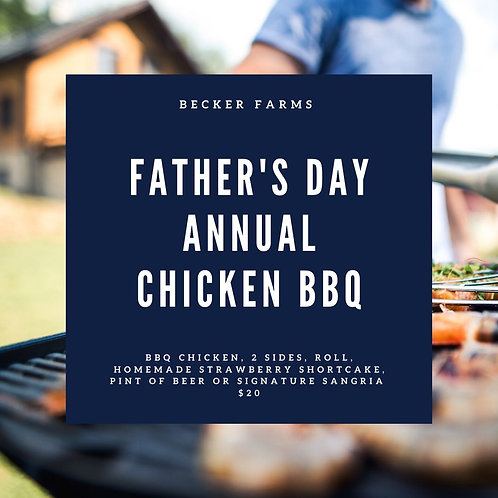 Father's Day Chicken BBQ