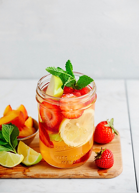 16 oz. of refreshing red or white Sangria🍹