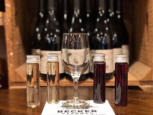 Wine tasting to go