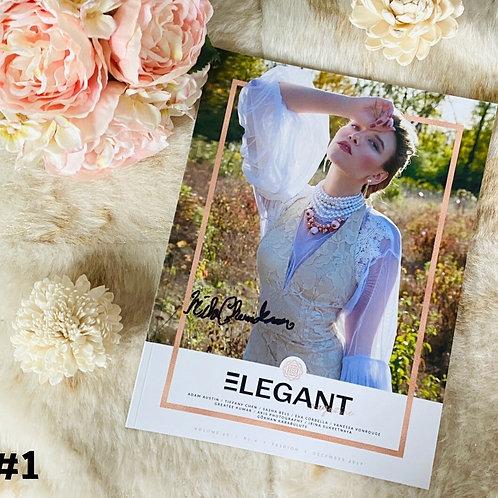 Signed Issue Of Elegant Magazine