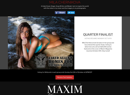 Maxim Quarter-Finals
