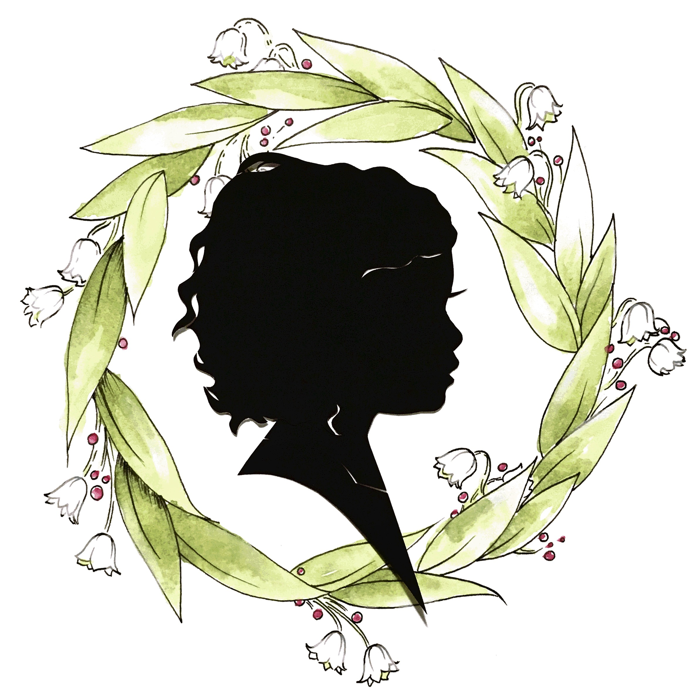 Silhouette with Wreath, 2018