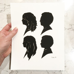 Mother's Day Silhouettes, 2018