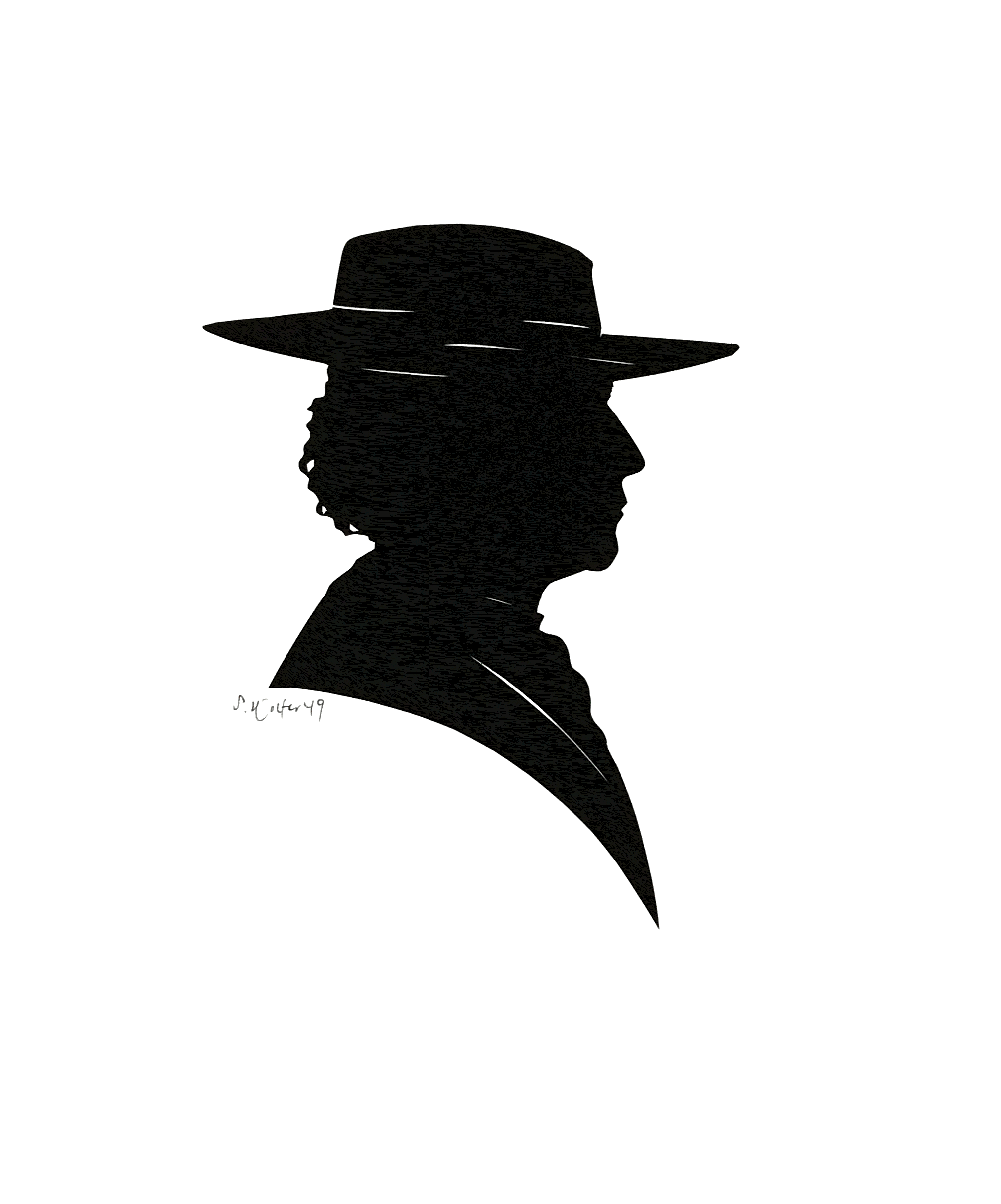 Sam Houston SIlhouette