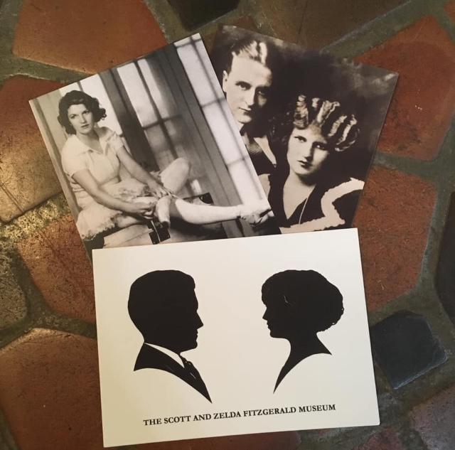 Fitzgerald Silhouette Postcard, 2019