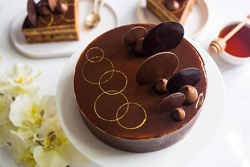 Russian Honey Cheesecake