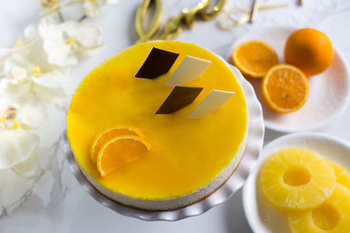 Japanese Orange & Pineapple Cheesecake