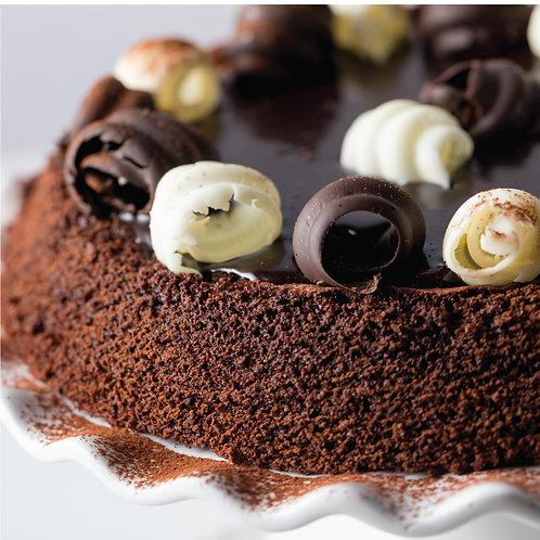 Gluten Free Gooey Chocolate Fudge Cake