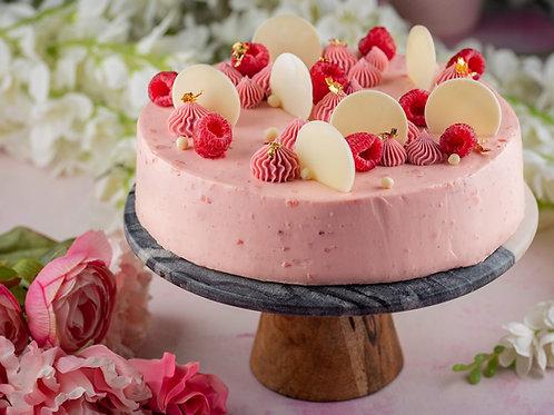 Ruby Chocolate Layered Cheesecake