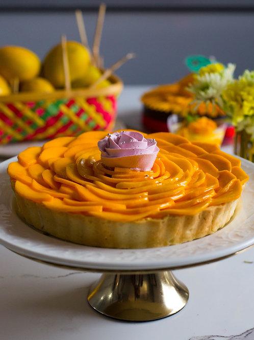 "Fresh Mango Tart (8"")"