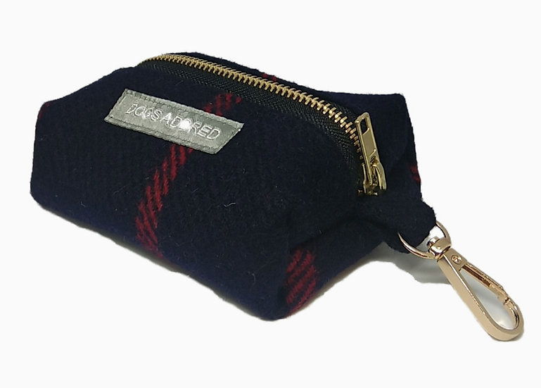 Eco Tweed Poop Bag Holder