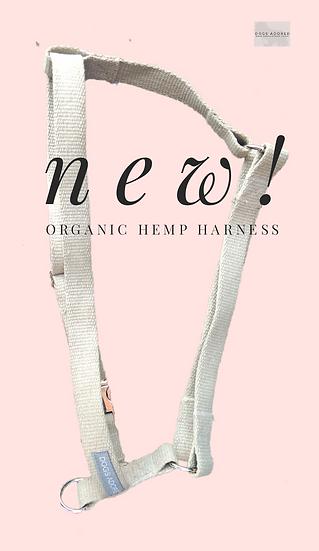 "Organic 3/4"" Hemp Bespoke Dog Harness"