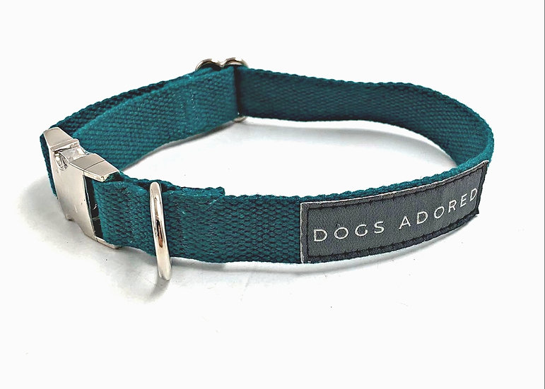 "Organic Hemp Dog Collar - Small 11-16""[3/4"" width]"